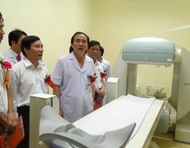 Đầu tư 25 tỷ đồng sắm thiết bị tân tiến phục vụ khám chữa bệnh