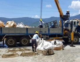 Hơn 145 tấn chất thải Formosa được chuyển ra Phú Thọ