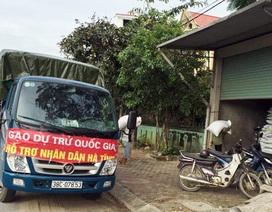"""Bắt giữ xe tải treo băng rôn """"gạo hỗ trợ nhân dân"""" khi đi bán hàng"""
