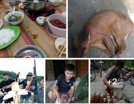 """Nam thanh niên khoe """"chiến tích"""" diệt động vật hoang dã trên Facebook"""