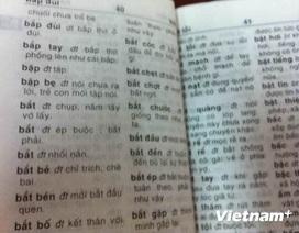 Từ điển Vũ Chất: Nhà Xuất bản xin lỗi, Cục nói sách mạo danh?