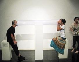 Nghệ thuật đương đại Việt mới chỉ mang tính hình thức