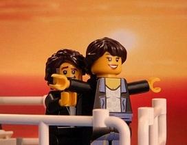 Những cảnh phim kinh điển được tái dựng bằng… lego