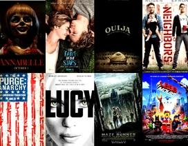 Những phim đại thắng phòng vé năm 2014