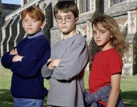 Loạt ảnh những ngôi sao phim Harry Potter thuở còn vô danh