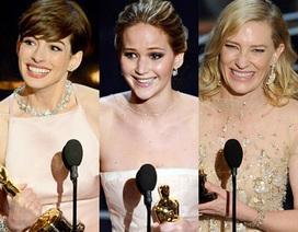 Những con số thú vị từ bài phát biểu nhận giải của các diễn viên