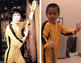 """Cậu bé 4 tuổi được mệnh danh là """"Lý Tiểu Long tái thế"""" gây sốt"""