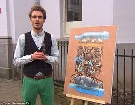 """Bức tranh 230 ngàn đồng và câu chuyện """"cười đau ruột"""""""