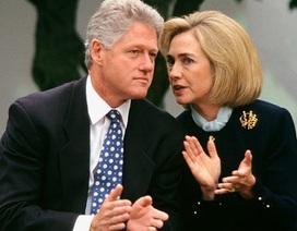 """Hài kịch về hôn nhân của ông bà Clinton lại """"dậy sóng"""""""