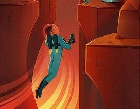 Hình ảnh về cuộc sống của loài người trên... sao Hỏa