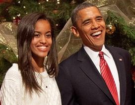 Nghỉ hè, con gái Tổng thống Obama thực tập trên phim trường