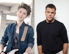"""Matt Damon """"choáng"""" trước mức độ nổi tiếng của sao Hoa ngữ"""