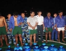 Dẫn độ 11 tên cướp biển trên tàu ZAFIRAH về Indonesia