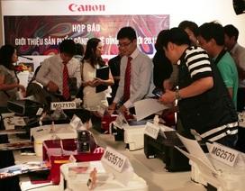 Canon trình làng 16 sản phẩm đột phá tại Việt Nam