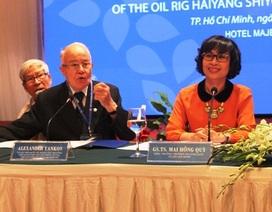 Nguyên Thẩm phán Tòa Công lý quốc tế đến Việt Nam bàn về Biển Đông