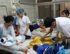 Giao mùa, tăng mạnh trẻ nhỏ nhập viện vì viêm phổi