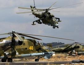 Trực thăng tấn công của Nga áp sát Thổ Nhĩ Kỳ
