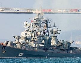 Tàu chiến Nga bắn cảnh cáo tàu Thổ Nhĩ Kỳ