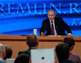 Tổng thống Putin họp báo với 1.400 phóng viên chiều nay