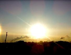 Hy hữu hiện tượng 3 mặt trời cùng xuất hiện ở Nga