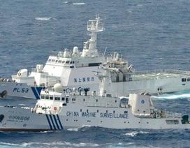 """Tàu Trung Quốc bí mật """"đặt đường ống trong vùng biển Nhật Bản"""""""
