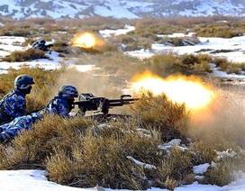 Thủy quân lục chiến Trung Quốc lần đầu tập trận tại Sa mạc Gobi