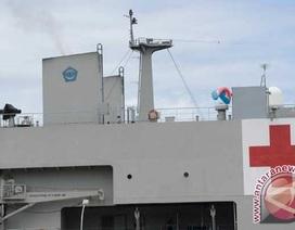 Tàu y tế Indonesia lần đầu thực hiện sứ mệnh ở nước ngoài