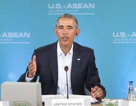 Obama: Mỹ và ASEAN thúc đẩy tầm nhìn chung về trật tự khu vực, tự do hàng hải