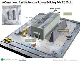 Trung Quốc có thể đã trắng trợn xây kho chứa vũ khí kiên cố ở Hoàng Sa