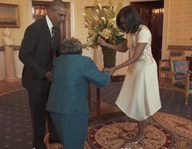 Cụ bà 106 tuổi mãn nguyện được nhảy cùng Tổng thống Obama