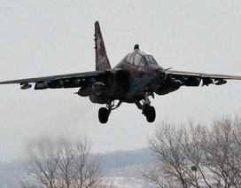 Máy bay chiến đấu Su-25 của Nga rơi tại miền nam