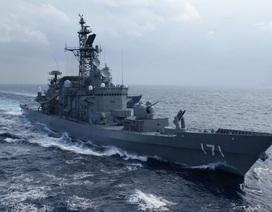Tàu chiến Nhật Bản dự kiến cập cảng Cam Ranh trong tháng 4
