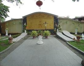 Nghĩa trang đồng nhi giữa lòng thành phố