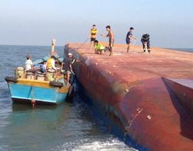 Vụ chìm tàu ở sông Soài Rạp: Vẫn còn 4 thuyền viên chưa được tìm thấy