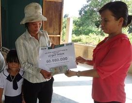 Gần 61 triệu đồng đến với gia đình bé Lê Mộng Thùy Dương