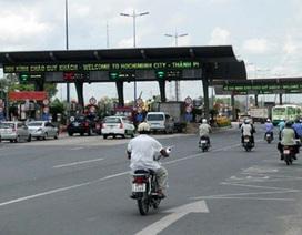 TPHCM: Không tăng phí xe qua trạm xa lộ Hà Nội