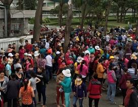 Vụ 17.000 công nhân ngừng việc: Công ty Pouchen Việt Nam nhượng bộ