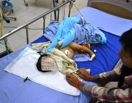 Vụ chú 3 tuổi nghịch súng: Cháu 9 tháng tuổi được cứu sống