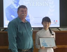 Một nữ sinh lớp 12 giành giải Nhất viết văn bằng tiếng Pháp