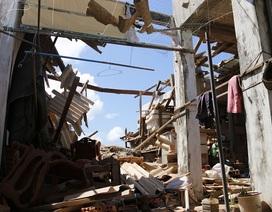 Hiện trường tan hoang sau vụ nổ lớn trên đảo Phú Quý