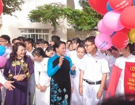 Chủ tịch Quốc hội dự khai giảng tại Bà Rịa - Vũng Tàu