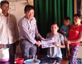 Hà Tĩnh: Hơn 61 triệu đồng đến với gia đình chị Đặng Thị Hồng