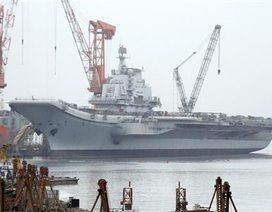 """""""Trung Quốc sắp thử nghiệm sơ bộ tàu sân bay"""""""