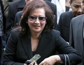 Vợ cũ Thaksin trắng án tội trốn thuế