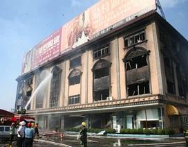 Trung Quốc: Cháy lớn tại nhà máy gốm, 15 người chết