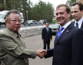 Cuộc gặp hiếm hoi giữa Tổng thống Nga và lãnh đạo Triều Tiên