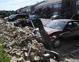 Ảnh thiệt hại do động đất ở Mỹ