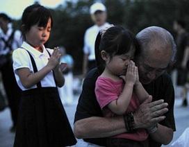 Hiroshima tưởng niệm 66 năm ngày hứng chịu bom nguyên tử