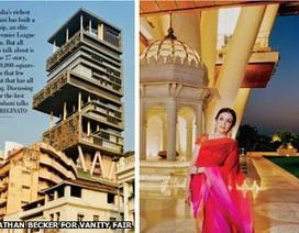Vợ tỷ phú giàu nhất Ấn Độ tiết lộ về ngôi nhà đắt nhất thế giới