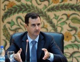 Tổng thống Assad: Syria đang trong tình trạng chiến tranh